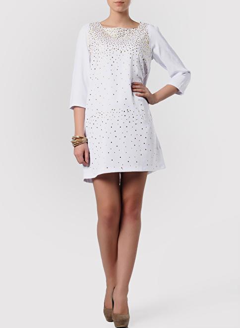 Sense Elbise Beyaz
